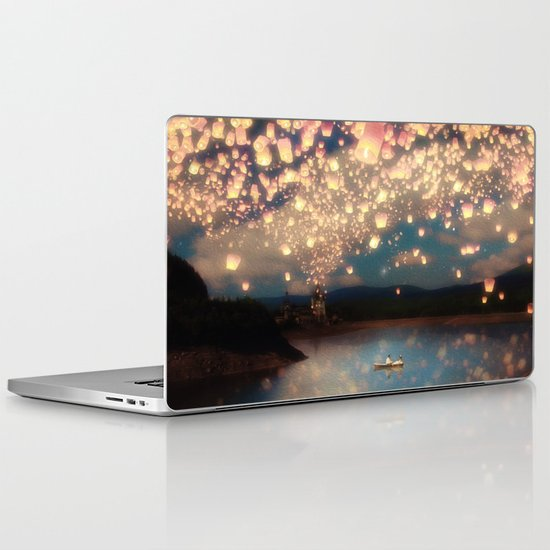 Love Wish Lanterns Laptop & iPad Skin