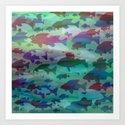 Pattern/Zodiac/Pisces/2 Art Print