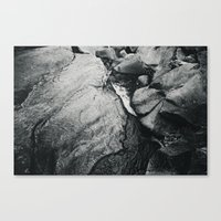 Waters of the Merced Canvas Print
