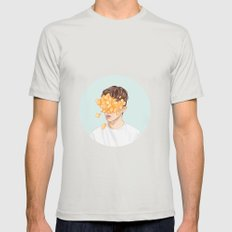 Troye Sivan: WILD Mens Fitted Tee Silver SMALL