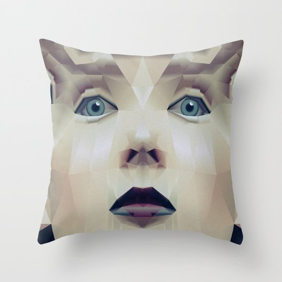 Facet_CD1 Throw Pillow