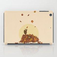 Autumn Hedgehogs iPad Case