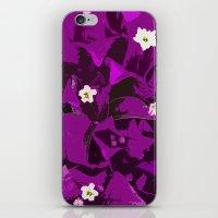 Bouganvilla delight iPhone & iPod Skin