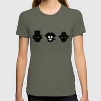 chico, harpo & groucho Womens Fitted Tee Lieutenant SMALL