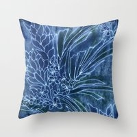 Pretty Dungarees Throw Pillow