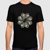Covered Woman Mandala Mens Fitted Tee Black SMALL