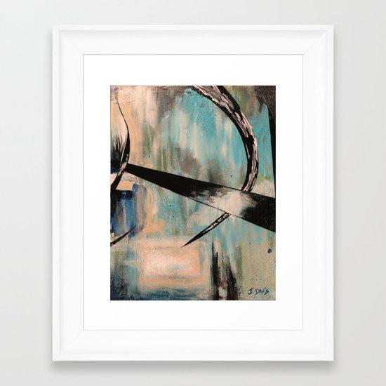 Blue Part 2 Framed Art Print