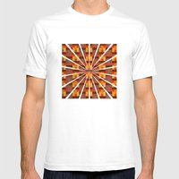 Woven Pixels I Mens Fitted Tee White SMALL
