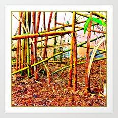 Bamboo Banga Art Print