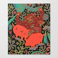 Peaceful Grazing Canvas Print