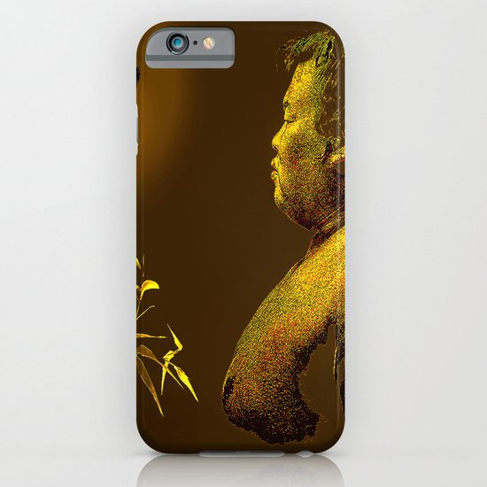 The short-lived life of the butterfly and the sumo wrestler iPhone & iPod Case