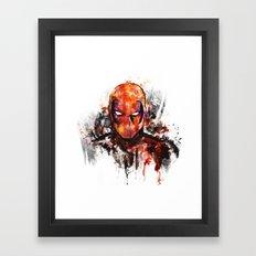 dead one Framed Art Print