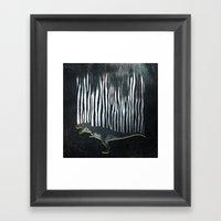 Zebrex - The Tyrex Who W… Framed Art Print