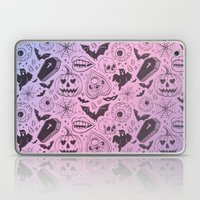 Spooky Scary Halloween P… Laptop & iPad Skin