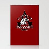 Florentine Assassins Stationery Cards