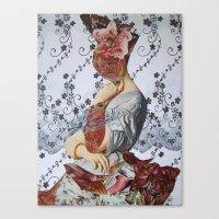 CONTESSA D'HASSONVILLE Canvas Print