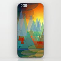 Alpine Sunset iPhone & iPod Skin