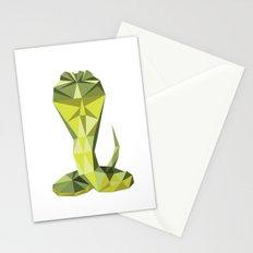Geometric Cobra Stationery Cards