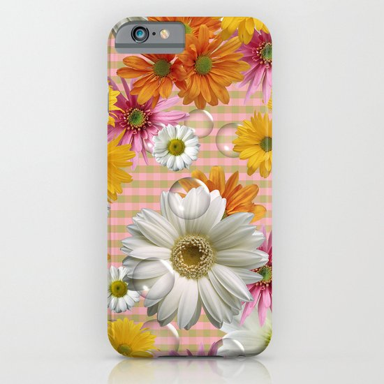 Retro Country Flowers iPhone & iPod Case