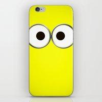 minion iPhone & iPod Skin
