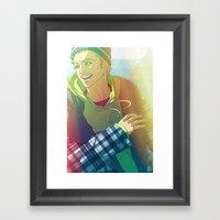 Cowhouse (Jesse Pinkman … Framed Art Print