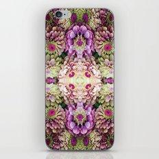 Dark floral iPhone & iPod Skin