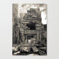 Preah Khan Gate Canvas Print