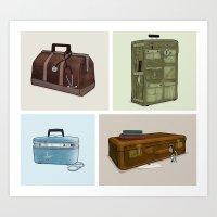 LOST Luggage (Composite). Art Print