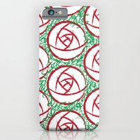 iPhone & iPod Case featuring Roses & Thorns by rollerpimp