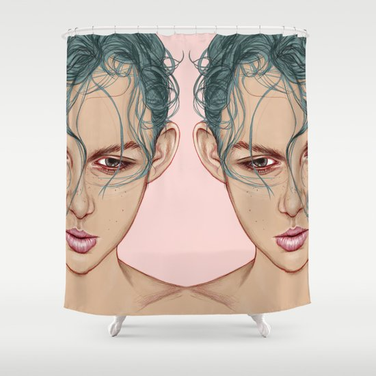 SWIM Shower Curtain