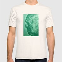 wladimir nabokov - green Mens Fitted Tee Natural SMALL