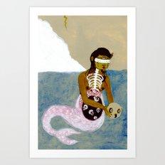 Lamia Art Print