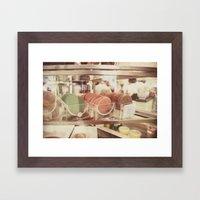 patisserie:: nyc Framed Art Print