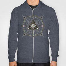 Evil Eye Mandala – Black Hoody