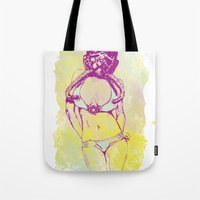 Tie My Fighter Tote Bag