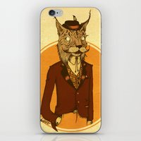 {Bosque Animal} Lince iPhone & iPod Skin