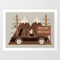 A Place Both Wonderful And Strange Art Print