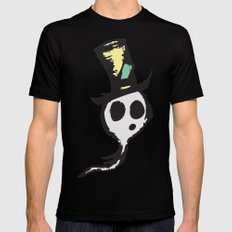 Ghost SMALL Mens Fitted Tee Black