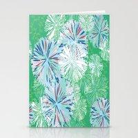 Retro Bloom Stationery Cards