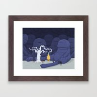 Nearly Ripe Framed Art Print