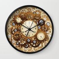 Steampunk Vintage Style … Wall Clock