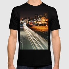 Pike Nights.... You and Me. SMALL Mens Fitted Tee Black