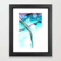 Swim Pool Framed Art Print