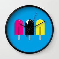 Ice pops Wall Clock