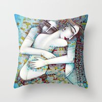 DO NOT LEAVE ME Throw Pillow