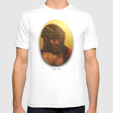 Cristo Mens Fitted Tee SMALL White