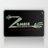 Zombie League Baseball Laptop & iPad Skin
