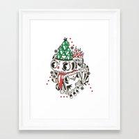 Fez Framed Art Print