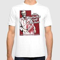 KFC (Utah) Mens Fitted Tee White SMALL