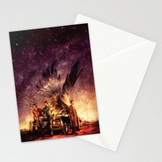 Carry On My Wayward Son Stationery Cards